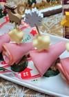 簡単!可愛い【クリスマス3色ピンチョス】