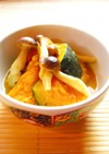 ☺簡単和食♪味噌バター味の南瓜の煮物☺