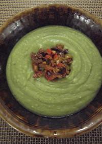 里芋とグリーンピースのポタージュ