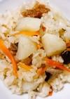 簡単!菊芋の松茸風たきこみごはん
