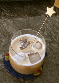 練乳入りアイスコーヒー