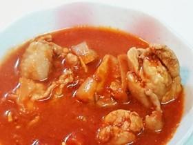 鶏もものトマトオニオンソース煮込み