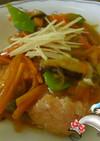 時鮭の唐揚げ~野菜あんかけ~