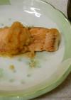 ✨鮭のみぞれ煮込み&きのこの味噌汁✨