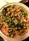 白菜と豚バラ肉としめじのミルフィーユ鍋