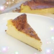 18cm型•噂の簡単バスクチーズケーキ