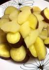 さつまいもとりんごのレモン甘煮♪