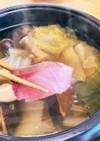 白菜と丹波しめじの簡単ぶりしゃぶ鍋