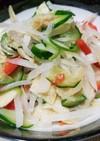 大根とポテチのサラダ