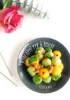 アボカドと柿のころりんサラダ