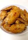 フライパンで鶏の手羽先揚げ焼き☆お店の味