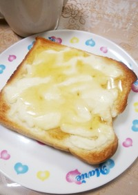 ♡はちみつチーズトースト♡