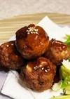 甘酢あんかけ肉団子 母のレシピ