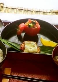 『トマトカップのサラダ』定食⑤