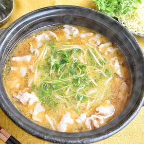 無限ごま油鍋 (豚・豆苗・もやし)