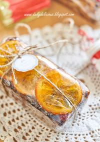 クリスマスフルーツケーキ:コニャック