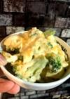 ブロッコリーとツナの卵サラダ