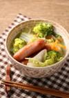 簡単!シャウエッセン野菜スープ