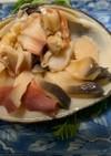 ホッキ貝、ウバガイの捌き方(刺身と湯引き