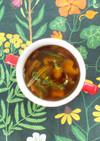 ごぼうとしいたけの中華スープ