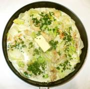 白菜鶏むね肉豆乳のクリーム煮♪簡単咳にの写真
