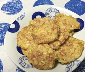 お弁当にも☆じゃが芋&カニカマの簡単焼き