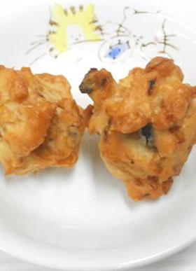 給食★米粉のコーンフレーククッキー