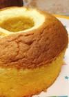 大さじスプーンとHMで簡単シフォンケーキ