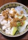 豚バラ肉と白ネギの塩鍋