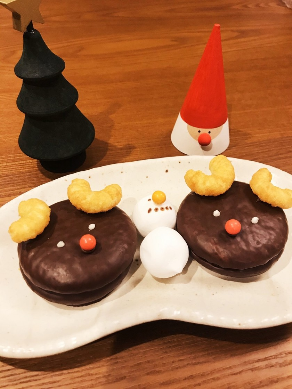 クリスマスに☆チョコパイトナカイ☆