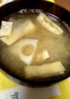 イワシの味噌缶の残り汁でうんまー味噌汁!