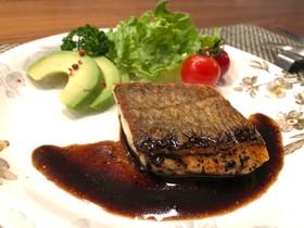 真鯛のポワレ バルサミコ酢ソース