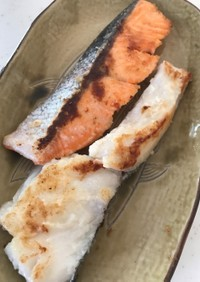 離乳食1歳魚のムニエル