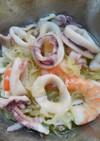 すし酢で時短☆イカと海老の簡単マリネ