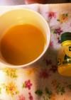 *風邪予防オレンジジュース+レモン*