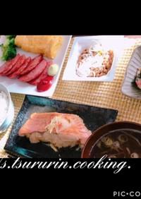 赤魚の煮魚 彼氏褒められ朝の和食ごはん♡