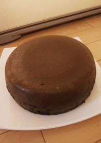 簡単 小学生が作る炊飯器ココアケーキ