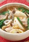 冬野菜の具だくさんスープ