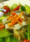 ホッキ貝とさんまのカルパッチョ