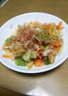 温野菜とツナの簡単サラダ❤︎⃜