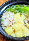 柚子香る✿水菜と豚肉のハリハリ鍋