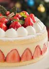 クリスマス☆ホワイトチョコのムースケーキ