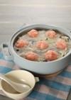 トマトみぞれの豚しゃぶ生姜鍋