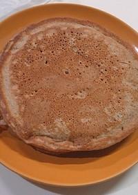 豆乳チョコバナナホットケーキ