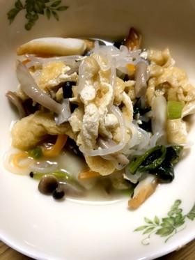 小松菜とお揚げの煮物