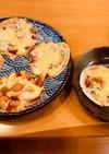餃子の皮でピザ(男の料理)