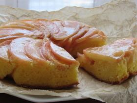 スキレットで簡単♪りんごのケーキ