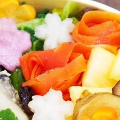 お弁当に♩金時人参のサラダ
