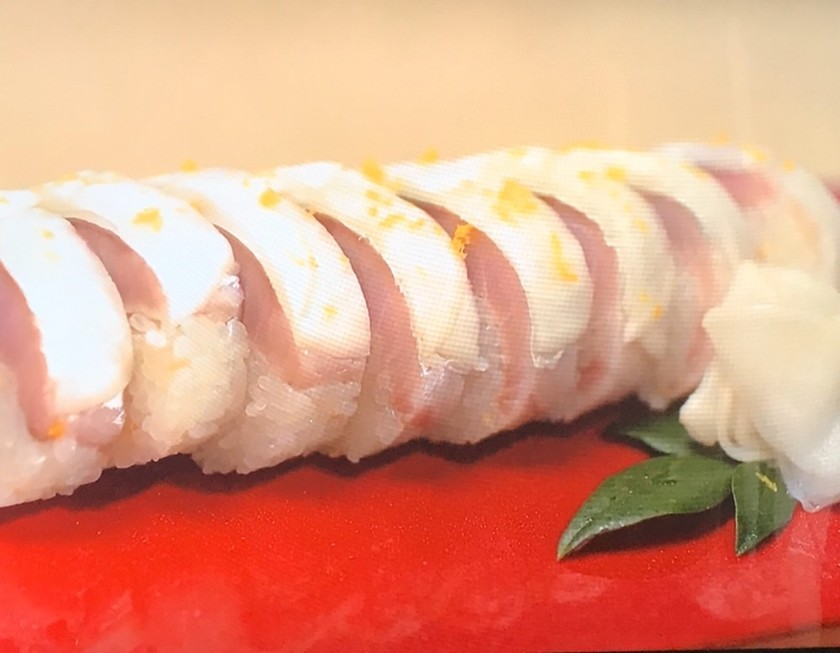 日本料理店直伝!焼きサバの棒寿司
