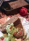 ☘腸活!ジンジャーココアパウンドケーキ